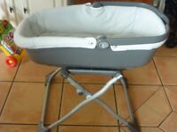 Mamas and Papas Carrycot with stand