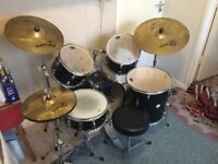 "Complete CB Drum Kit + Zildjian ""Planet Z"" Cymbals"