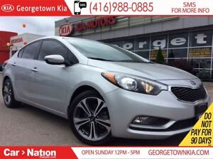 2016 Kia Forte 2.0L SX | NAVI | SUNROOF | LEATHER | BACK UP CAM