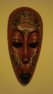 Red Tribal Mask