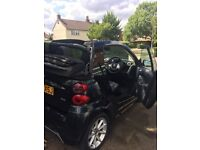 Smart Fortwo 1.0 Passion Cabriolet Convertible Black