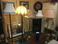 Attractive Selection of Elegant & Stylish Vintage Floor Lamps – From £30