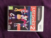 Limited Edition Just Dance 2: Extra Songs (used)