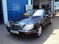 Mercedes W220 S500 Auto –5 Litre V8 302 BHP – Very Fast – LOW MILEAGE – £2,999