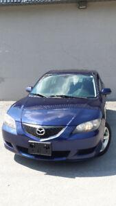 2004 Mazda Mazda3 GS Sedan Fully Loaded