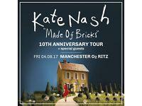 Kate Nash - Made of Bricks 10th Anniversary Tour (O2 Ritz Manchester)