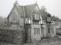 original picture/drawing of woolton houses, liverpool
