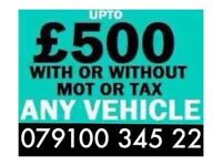 07910034522 SELL YOUR CAR 4x4 FOR CASH BUY MY SCRAP MOTORCYCLE N