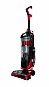 Bissell Powerclean Upright Canister Vacuum Cleaner Red Swivel