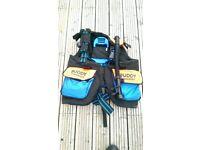 Buddy Commando Stab Jacket Buoyancy Compensator in excellent condition