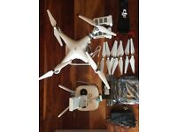DJI Phantom 3 Advanced Drone - 1 year old - Used only 12 Times. Collection only (will demonstrate)