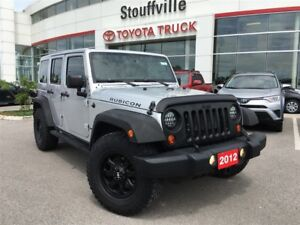 2012 Jeep WRANGLER UNLIMITED Rubicon - Leather & Navigation!!