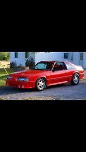 1988 Mustang GT TTop
