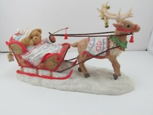 Cherished Teddies Gus & Gerhild Christmas