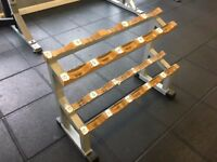 For sale we have x2 Techno Dumbbell Racks