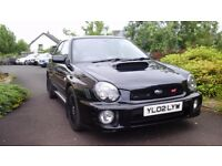 2002 Subaru impreza wrx sti type uk bug eye , may px , swap