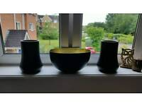 Bowl decorative / candle holders