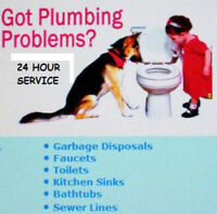 PLUMBER 18 YEARS EXPERIENCE NO JOB TOO SMALL $65/HR 403-7977597