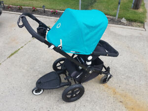 Bugaboo Cameleon stroller with lots of EXTRAS