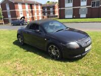 2001 Audi TT Quattro 1.8t convertible 90k low miles with history 12 months mot