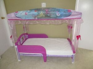Frozen Canopy Toddler Bed for Sale by NANA