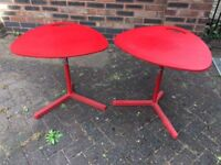 Children's Red Tables