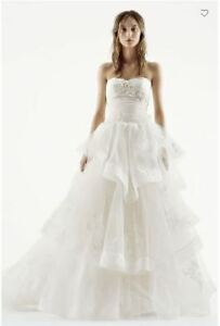 Vera Wang Wedding Dress with Matching Veil