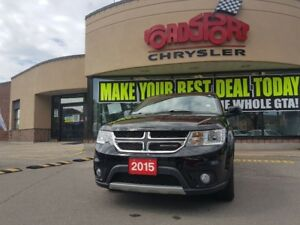 2015 Dodge Journey SXT 7 PASS NAVI DVD REAR CAM P ROOF NICE