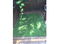 Brand new heavy density luxury Artificial Grass (2m x 1.5m section) from B&Q Never used.