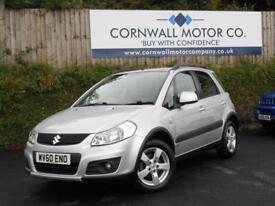 SUZUKI SX4 1.6 SZ4 DDIS 5d 90 BHP VERY LOW MILEAGE + NEW MOT (silver) 2010