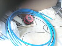 BLUE WATER PIPE NEW. APPROX. 10 METRES