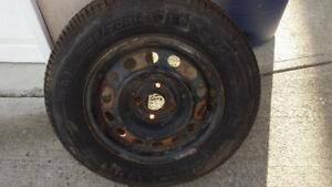 Full-size Spare Tire w/ Rim - P185/70R14 (NEW)