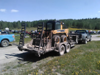 Residential concrete and skid steer service