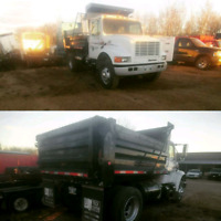 For hire. Dump truck