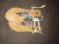 River island sandals size 7