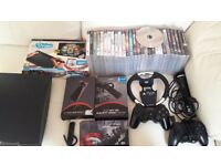 Ps3 with 30 games and lots of extras