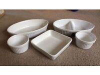 5 piece ceramic kitchen set