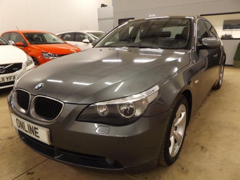 BMW 5 SERIES 520D SE, Grey, Auto, Diesel, 2006