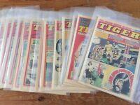 Tiger comics 1974-1979