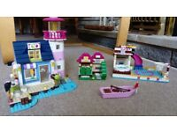 Various Lego Friends Sets, as pictured