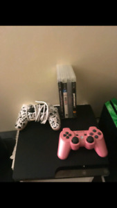 Playstation 3 PERFECT CONDITION WITH 4 GAMES!!!!