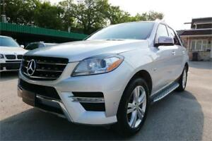 2012 Mercedes-Benz ML 350 BlueTEC -- 4 Year Warranty