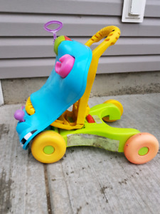 Push walk and ride toy