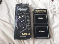 Marshall amp amplifier mini micro stack