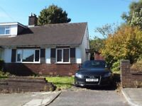 2 BED SEMI BUNGALOW IN REVIDGE BLACKBURN QUICK SALE 92,000