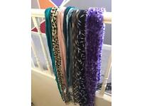 Set of ladies scarves