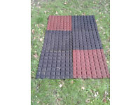 Wendy House / Shed Rubber Ground Mats FREE LOCAL DELIVERY