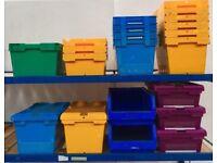 Heavy Duty Plastic Tote Boxes