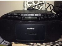 Sony portable boombox (MUST GO QUICK)