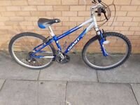 Giant mountain bike with 26 wheel size and XS frame frame